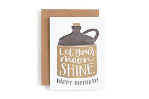 1canoe2 Card - Letterpress Moonshine Birthday