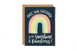 1canoe2 Card - Sunshine Rainbow Birthday