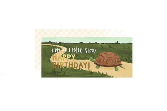 1canoe2 Card - Birthday Turtle
