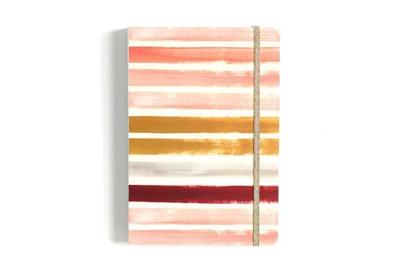 1canoe2 Notebook - Sunset Stripe