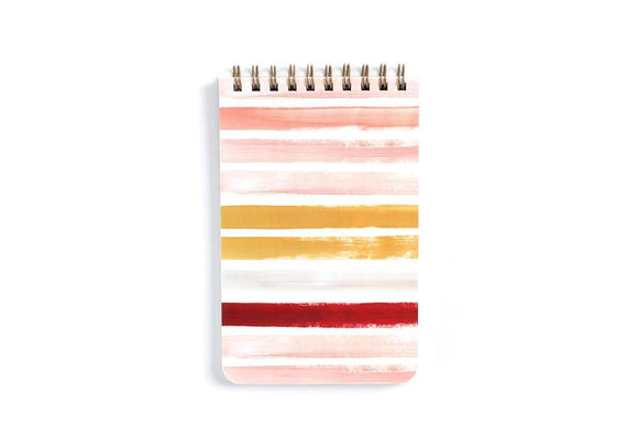 1canoe2 Notebook - Small Sunset Stripe