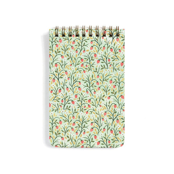 1canoe2 Large Notebook - Strawberry Meadow