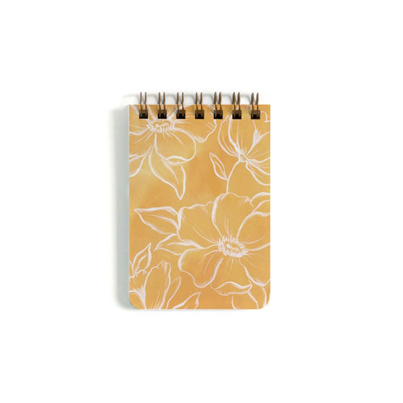 1canoe2 Small Notebook - Golden Poppy
