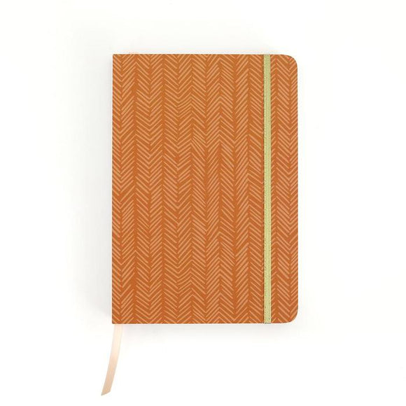 1canoe2 Sketchbook - Rust Herringbone