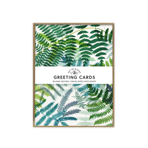 May We Fly boxed set of cards - Ferns