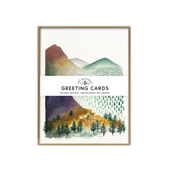 May We Fly boxed set of cards - Mountain Morning