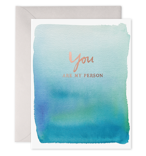 E. Frances Card - You Are My Person