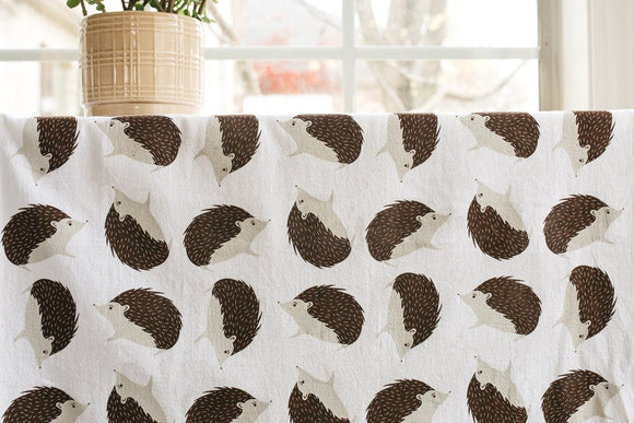 Gingiber Tea Towel - Hedgehog