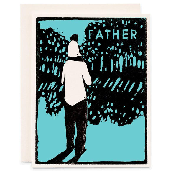 Heartell Press Card - Father
