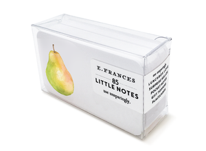 E. Frances Little Notes - Pretty Pear