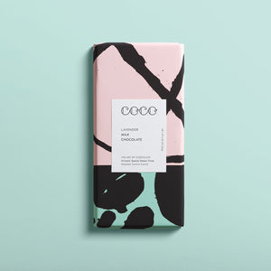 Coco Chocolate Bar - Lavender