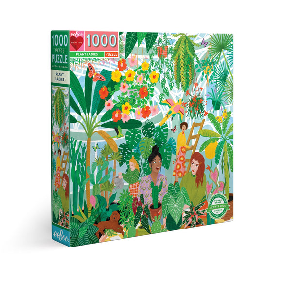 eeBoo Plant Ladies 1000 Piece Puzzle