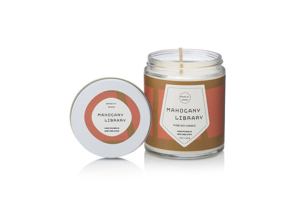 Kobo Pastiche Collection 4 oz. Candle - Mahogany Library