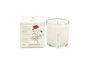 Kobo Plant the Box Collection Candle - Siam Poppy