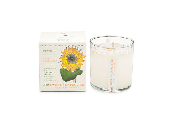 Kobo Candle - Sweet Sunflower