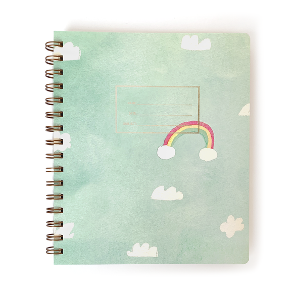 E. Frances Notebook - Rainbow Sky
