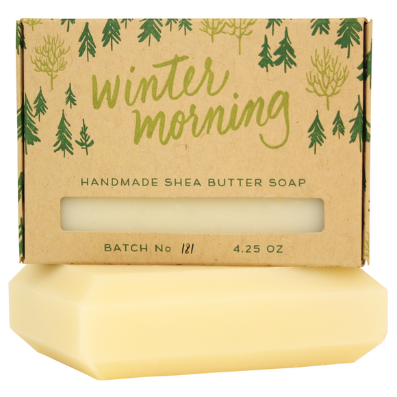 Smudge Ink Handmade Soap - Winter Morning