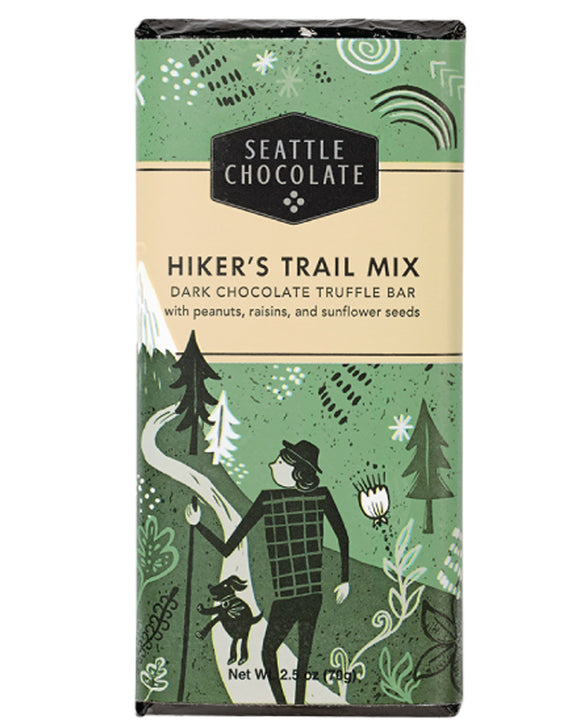 Seattle Chocolate Hiker's Trail Mix Truffle Bar