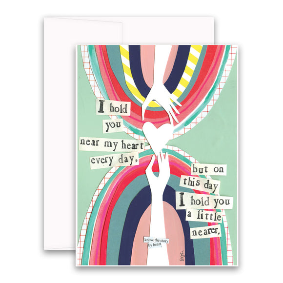Curly Girl Card - Little Nearer