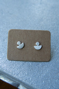 Tashi Geometric Stud Earrings