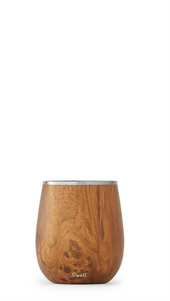 S'well Wine Tumbler-Teakwood
