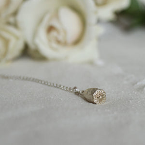 Thicket Necklace - Sterling Silver Field Poppy Seed Pod