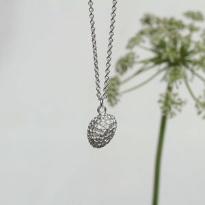 Thicket Necklace - Sterling Silver Sycamore Seed Pod