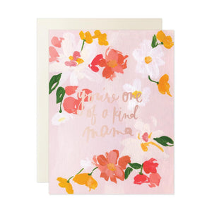Our Heiday Card - Mother's Day You're One of a Kind