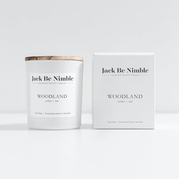 Jack Be Nimble 11oz Soy Candle - Woodland