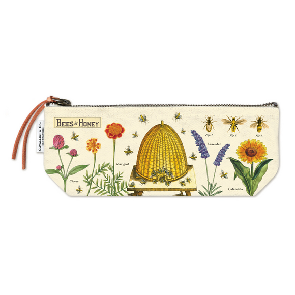 Cavallini & Co. Mini Pouch - Bees & Honey