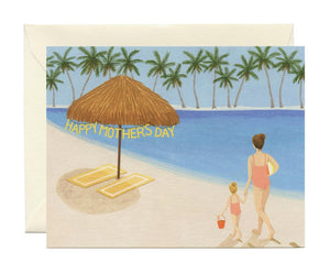 Yeppie Paper Card - Beach Mom