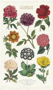 Cavallini & Co. Tea Towel - Botanica
