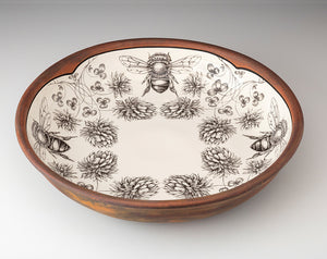 Laura Zindel Pasta Bowl - Honey Bee