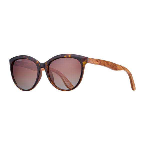 Blue Planet Sunnies - Breah in Tortoise/Rosewood/Brown