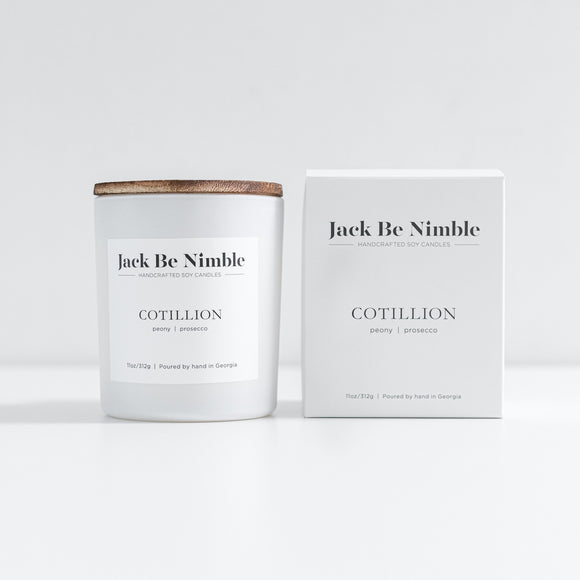 Jack Be Nimble 11oz Soy Candle - Cotillion