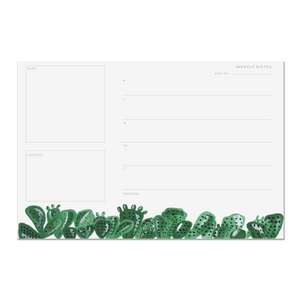 Pen & Pillar Notepad - Cactus