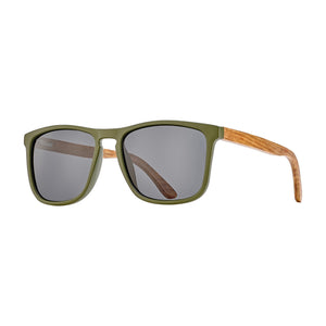 Blue Planet Sunnies - Cail in Olive/Smoke