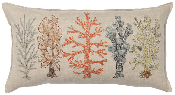 Coral & Tusk Pillow - Coral Studies