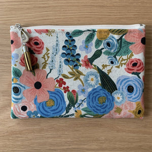Dana Herbert Cotton Canvas Wallet