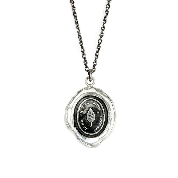 Pyrrha Necklace - I Do Not Change