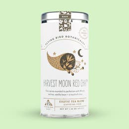 Flying Bird Botanicals Harvest Moon Red Chai 15 Tea Bag Tin