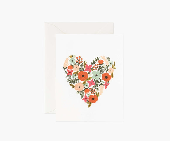 Rifle Paper Co. Card - Floral Heart