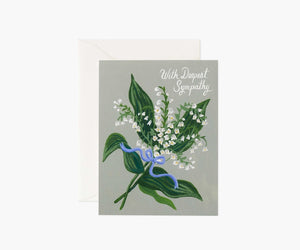 Rifle Paper Co. Sympathy Card - Lily of the Valley
