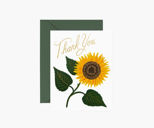 Rifle Paper Co. Boxed Cards - Sunflower Thank You