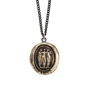 Pyrrha Necklace - Three Graces