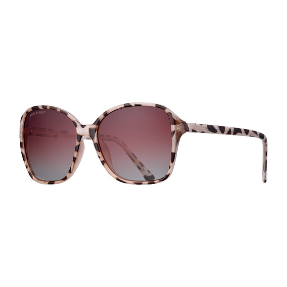 Blue Planet Sunnies - Althea in Ivory Tortoise/Brown