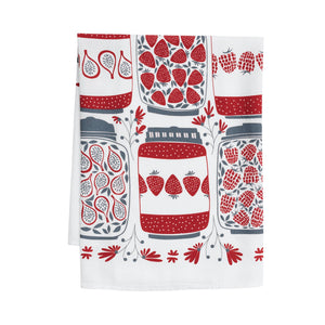 Hazelmade Tea Towel - Jam Jars