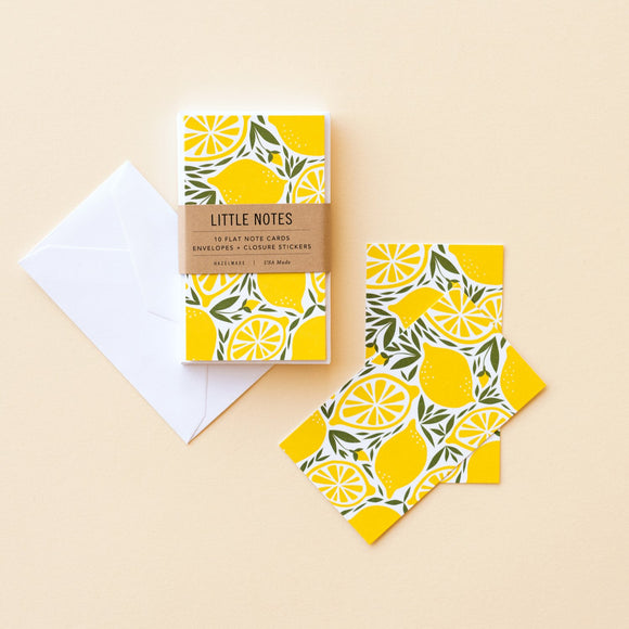 Hazelmade Little Note Sets - Lemons