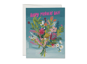 Red Cap Card - Neon Pink Mother