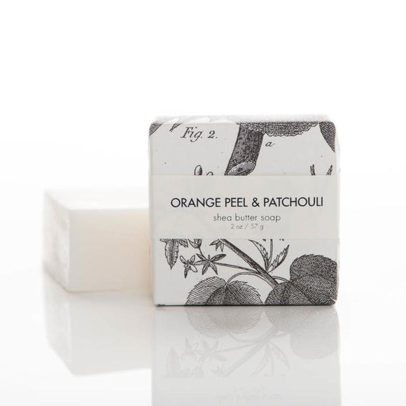 Formulary 55 Shea Butter Soap - Orange Peel & Patchouli Guest Bar